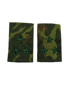VSR22.Russian VSR camouflage shoulder slides for rank of Colonel.