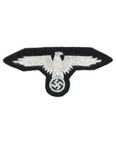 RSE48A.Waffen SS em sleeve eagle.White thread on black