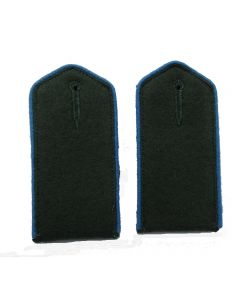 RSE412B.Turkistan Volunteer enlisted ranks shoulder boards with Blue piping