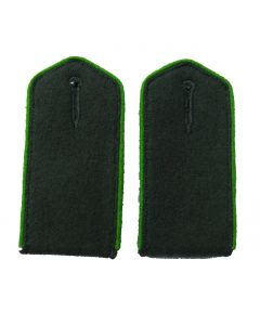 Azerbaidjan Volunteer enlisted shoulder boards with Green piping
