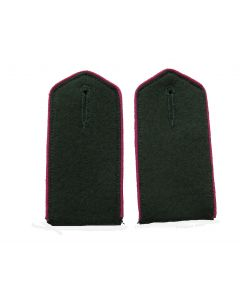 RSE412P.Georgian Volunteer enlisted ranks shoulder boards with Pink piping