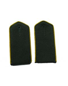 Armenian Volunteer enlisted ranks shoulder boards with Yellow piping