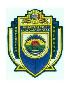 """Sleeve Patch """"Republica Moldova Inspectoratul Ecologic De Stat """""""