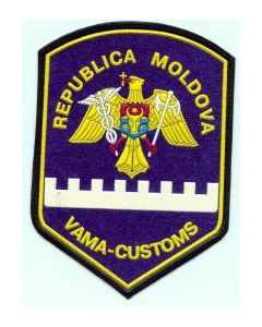 Sleeve Patch For Moldovan Customs