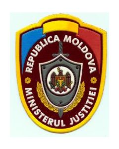 Sleeve Patch For Moldovan Ministry Of Justice