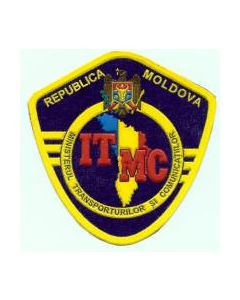 Sleeve Patch For The Moldovan Ministry Of Transportation And Communications