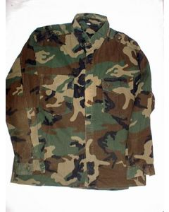 Bosnian Army Woodland Camouflage Shirt