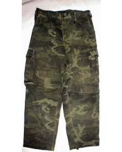 Bosnian Army Green Woodland Pants