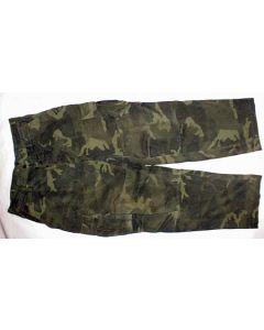 Bosnian Army Green Woodland Pants