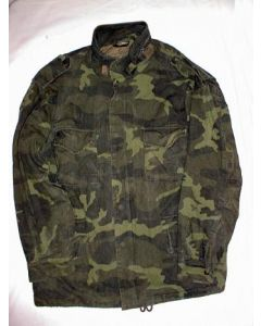 Bosnian Army Green Woodland Camouflage Jacket