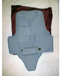 Yugoslav Kevlar Police Vest With Maroon Carry Bag