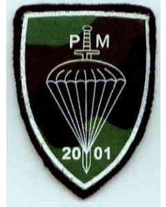 Macedonian Para Sleeve Patch