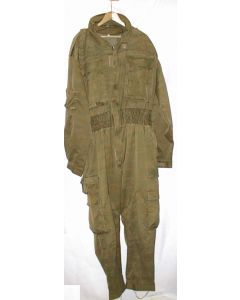 Serbian  Green Tiger Stripe Camouflage Winter Weight Jumpsuit