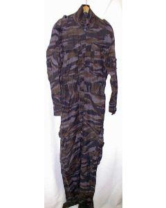 Yugoslav Blue Urban Tiger Stripe Camo Jumpsuit