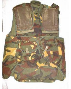 Yugoslav Yellow Branch Pattern Camouflage Kevlar Lined Flak Vest