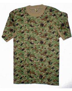 Japanese Camouflage T-ShirtSize LL