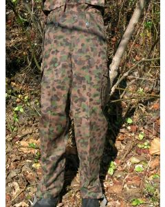 Austrian Camouflage Pants With Grey Winter Liner