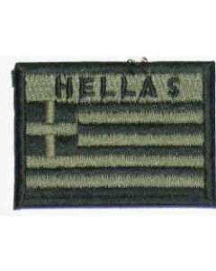 Greek Army Subdued Embroidered Sleeve Patch
