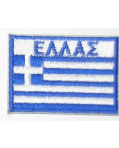 Greek Army Full Color Sleeve Patch