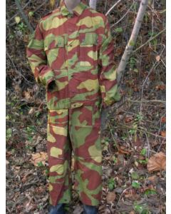 Old Model 1929 Pattern Camouflage Jacket And Pants Sets  with Removable HoodItalian Infantry Variation