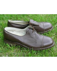 Soviet Lace Up Brown Service Shoes Available In Sizes 39, 43, 44, 45
