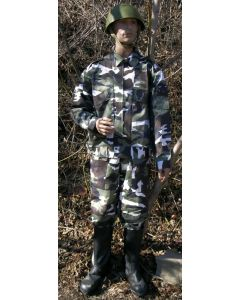 Russian Arctic Woodland Pattern    Camouflage Commandos Suit