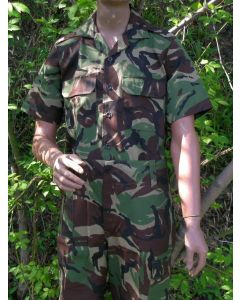 Bhoputatswana Defence Force Camo Short Sleeve Shirts