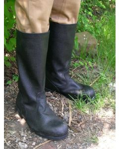 Soviet Enlisted-NCO Half Leather Black Combat Boots