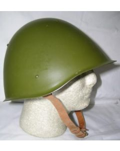 Soviet M60 Steel Helmets With The Brown 4-Pad Liner