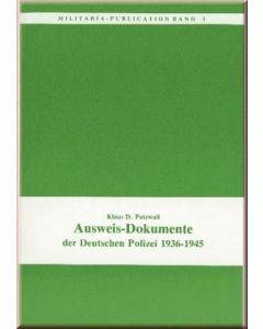 Ausweisdokumente Der Deutschen Polizei 1936-1945