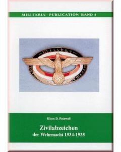 Zivilabzeichen Der Deutschen Wehrmacht 1934-1945