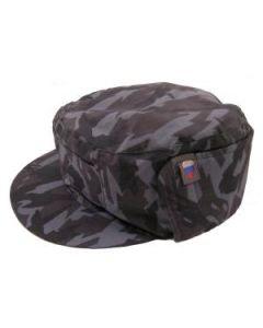 Russian MVD Blue Reed Camouflage Pattern Winter Caps