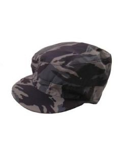 Russian Blue Tiger Stripe    Camouflage Caps