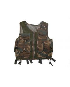 Croatia Army Special Camo    Assault Vest In Very Good Condition