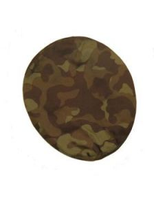 Green Woodland Camouflage Berets With All Insignia