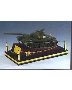 Chinese Type 59 Tank On Wooden    Stand