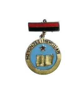 "Medal Of The Honorary Title ""Meritous Teacher"""