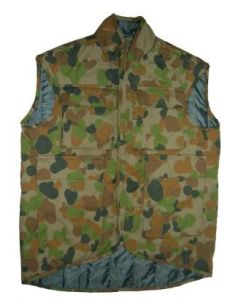 Austrian Camouflage Sleeveless Vests