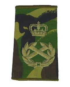 British Field Marshal Camouflage Shoulder Slides
