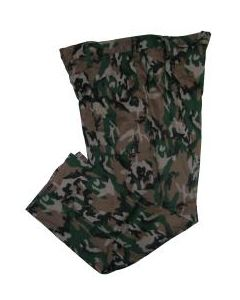 """Chinese Army Camouflage Pants Size 44"""" Waist Long"""