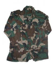 Croatian Camo Long Sleeve Shirts