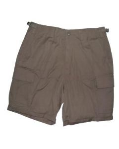 French Army 6 Pocket Khaki Cotton Ripstop Shorts