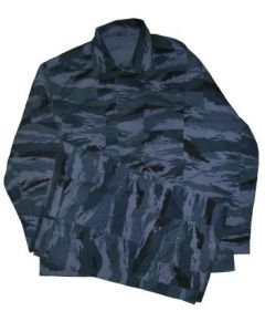 Russian Blue Tiger Stripe Camouflage BDU Uniforms