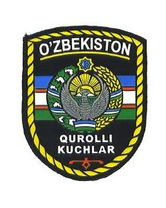 Uzbek Armed Forces Sleeve Patch