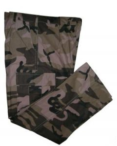 Brown Woodland Camo BDU Pants