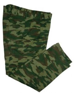Russian Pattern Camo BDU    Pants