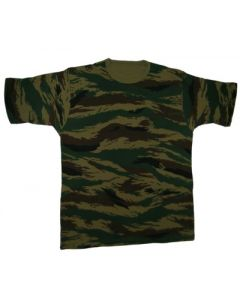 Russian Green Tiger Stripe    T-Shirts