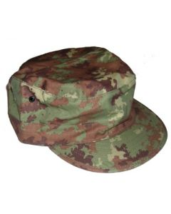 Italian Digital Camouflage HatsRipstop Fabric