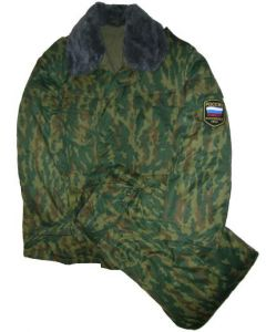 Russian VSR Pattern Camouflage Winter Sets Type 1  soldiers Model With Removable Winter Lining