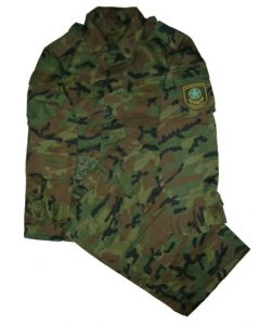Kazakstan Army Woodland Camouflage Sets, (Jacket, Pants)